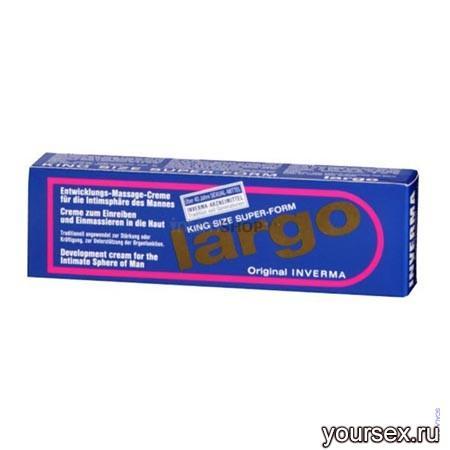 Крем для Усиления Эрекции Largo Special Cosmetic, 40 мл
