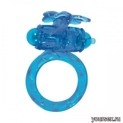Эрекционное Кольцо Flutter-Ring - Flattering Blue