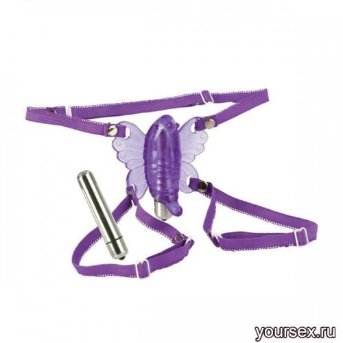 Стимулятор Клитора Бабочка Wireless Venus, фиолетовая