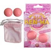 Вагинальные Шарики X-Large Ben Wa Balls, розовые