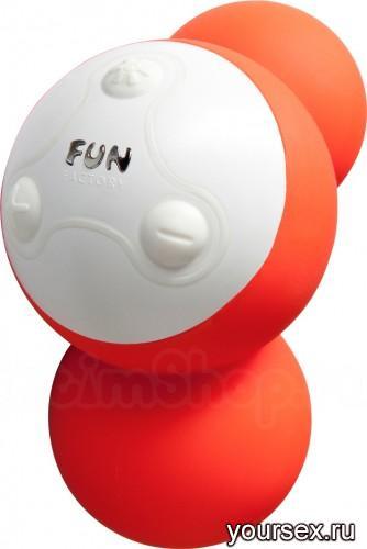 Вибростимулятор на клитор YOOO Vitamin (оранжевый)