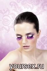 Ресницы Light-Purple Fan