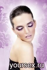 Ресницы Фиолетовый Джангл