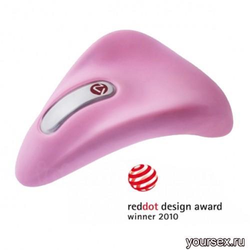 Вибростимулятор для клитора Nomi Tang Better Than Chocolate Pink
