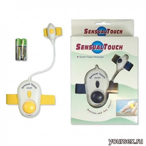Сенсорный вибромассажер для пальца Sensual Touch Vinger Vibrator