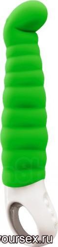 Вибратор Fun Factory Patchy Paul G4, цвет зеленый