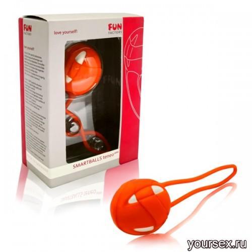 Вагинальный шарик Teneo Uno Vitamin/White