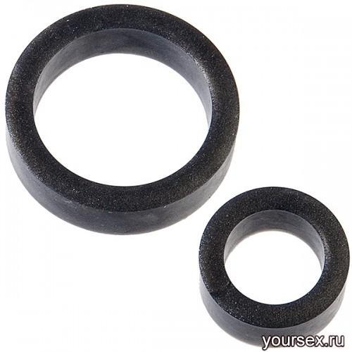 Кольцо Platinum Silicone - The C-Ring Charcoal