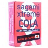 Латексные презервативы Sagami Xtreme COLA