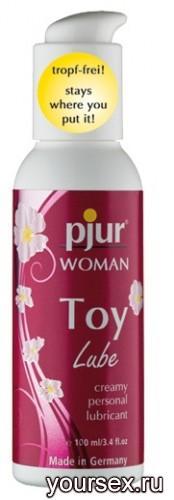 Лубрикант для игрушек Pjur Woman Toy Lube 100 мл.