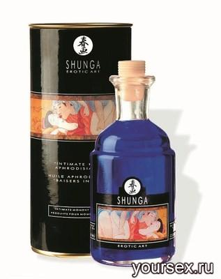 Масло для Массажа с Афродизиаками (Экзотик)Shunga Aphr.Oil Exotic Fruit,100 мл