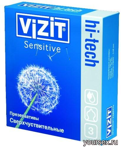 ������������ Vizit hi-tech Sensitive ������������������� (3 ��.)
