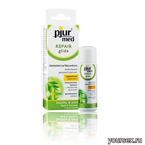 �������������� ��������� � ������������ �������� pjur�MED Repair glide 30 ml