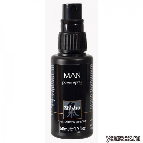 ����� ��� ������ Shiatsu Man Power Spray 50ml