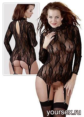 Бюстье женское, цвет черный, размер S/M