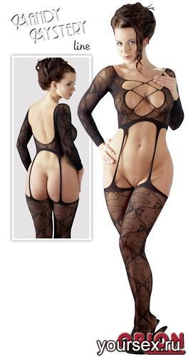 Бюстье женское, цвет черный, размер SL