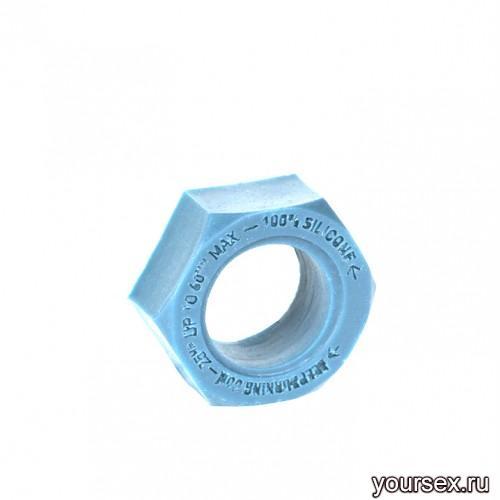 Keep Burning Кольцо из силикона CK06BL, цвет голубой