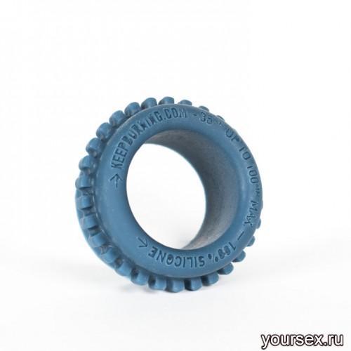Keep Burning Кольцо из силикона CK09BP, цвет темно-синий