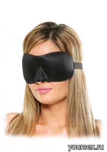 Маска на глаза FF Deluxe Fantasy Love Mask, цвет черный