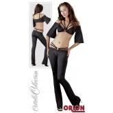 Набор женский: боди и брюки, цвет черный, размер M