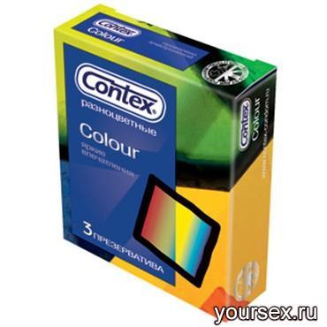 Презервативы Contex Colour (3 шт.)