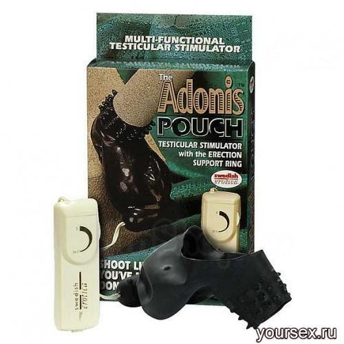 Вибратор-насадка Adonis Pouch Stimulator