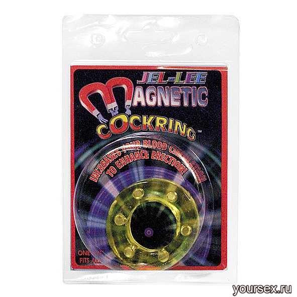 Эрекционное кольцо MAGNETIC cockring