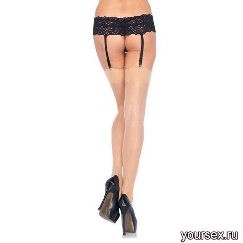 Чулки Sheer Stockings, цвет телесный, размер OS