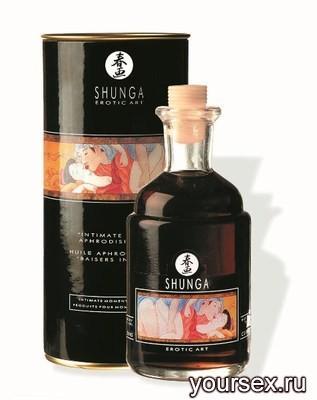 ����� ��� ������� � ������������� (�������) Shunga Aphr.Oil Chocolate,100 ��