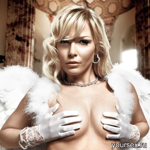 Перчатки Back in Heaven Белые с Кружевными Манжетами