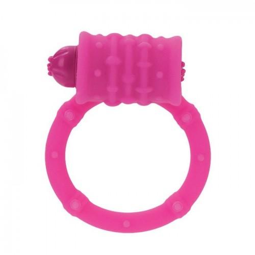 Стимулирующее Кольцо с Вибро-Моторчиком розовое