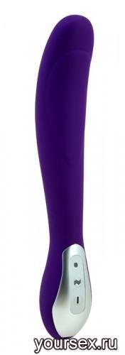 Вибромассажер Blossom Перезаряжаемый фиолетовый