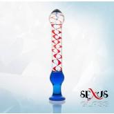 Фаллоимитатор  Sexus Glass 20 см
