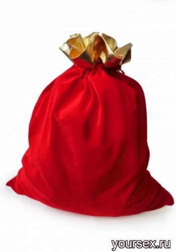 Мешок для Подарков Le Frivole красный, OS