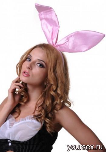Уши Кролика Le Frivole розовые, OS