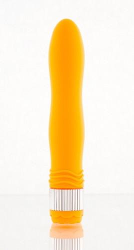 Вибратор Sexus Funny Five оранжевый - 21.5 см