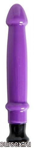 Вибратор Sexus Glass фиолетовый - 21 см.