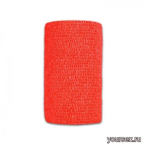Перевязочная Лента LuxLab красная узкая
