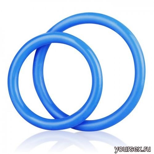 ����������� ������ Silicone Cock Ring Set �������