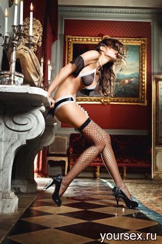 ����� Baci Lingerie Careless French Maid ������� � ������� ����� ������, 42-46