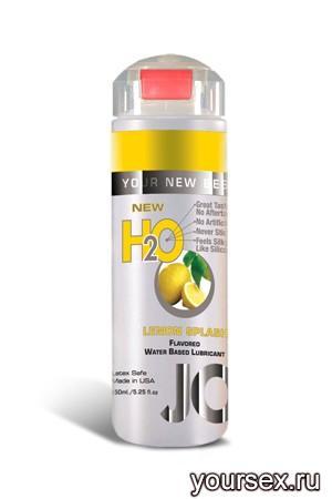 Ароматизированный Лубрикант JO Flavored Lemon Splash, 120 мл