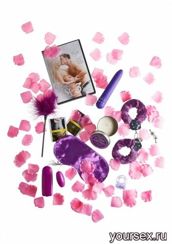 Эротический Набор SUPER SEX BOMB, фиолетовый