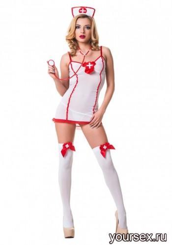 Костюм Le Frivole Сексуальная Медсестра, S/M
