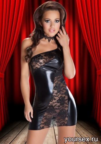 Платье и Трусики Sila Avanua, черные XXL/XXXL