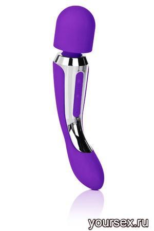 Вибромассажер BODY WAND фиолетовый