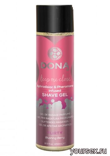 ���� ��� ���� � ������ DONA Shave Gel Flirty Aroma: Blushing Berry 250 ��
