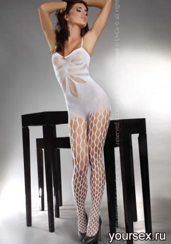 Комбинезон Livia Corsetti Artemida White, белый, S/L