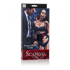 ������ � ����������� Scandal Corset with Cuffs ������� � ������