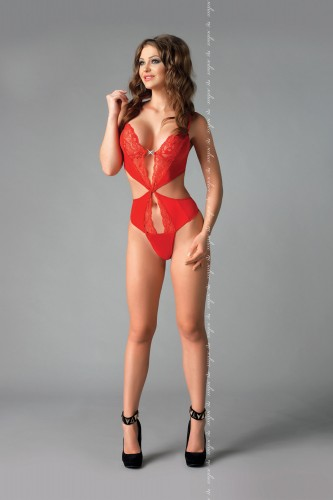 Красное боди Kendra L/XL