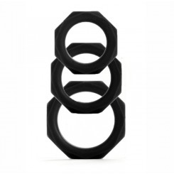����� ����������� ����� Octagon Rings 3 sizes, ������